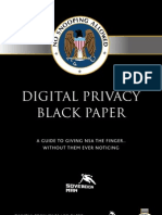Digital Privacy Black Paper