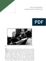 Soccer Nationalism Ecuador