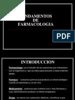 1. Fundamentos de Farmacologia