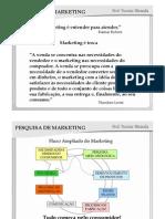 Marketing - Pesquisa de Mercado