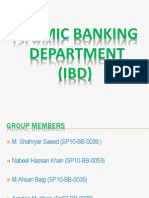 IBD Monetary (Islamic Banking Dept of Pakistan)