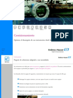 Comisionamiento - presentación a clientes