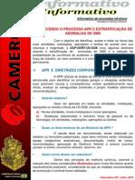 Informativo 257-2012_Processo APR e Estratificação de Anomalias