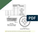 Diagrama 6 y 9 Pines Nexiq