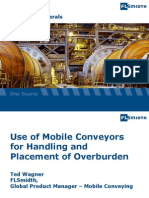 Use of Mobile Conveyors for Handling and Placement of Overburden