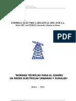 Norma Tecnica Diseno Redes Urbanas y Rurales