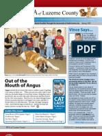 SPCA of Luzerne County - Spring Newsletter 2009