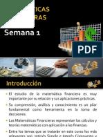 MATEMÁTICAS FINANCIERAS-presentacion