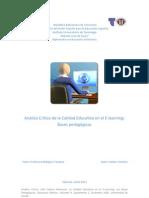 Analisis Crítico de la Educacion a Distancia