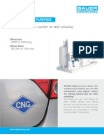 Adsorber for CNG