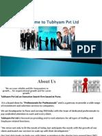 Company Profile - Tubhyam PVt Ltd