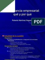 Gobernancia empresarial2
