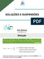 Aula_Soluções e suspensões
