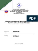 Plan de Ordenamiento Territorial, Mateares