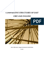 Cree English Structure 2012