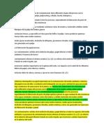 Las fuentes más importantes de contaminación en el proceso de la fabricacion del papel