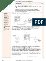 SCIENCE HOBBYIST_ How Transistors Work, An Alternate Viewpoint2