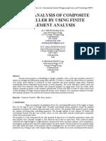 Stress Analysis of Propeller by Using FEM