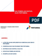 9 - Presentasi Biofuel (Pertamina)(1)