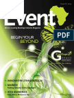 THE EVENT MAGAZINE ISSUE 6