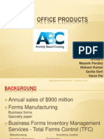 Allied Services Case Study-ABC Costing