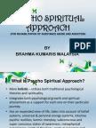 PSYCHO SPRITUAL APPROACH