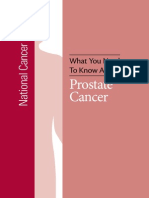 What You Need to Know About Prostate Cancer