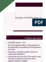 CDCOM Evaluation [Compatibiliteitsmodus]