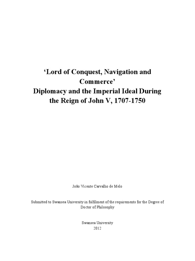 Planning Familial Choisy Le Roi lord of conquest, navigation, & commerce': diplomacy and the