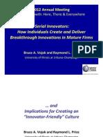 Serial Innovators June 2012 Brown Bag