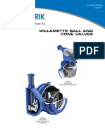 Willamette Ball Cone Valves Sales 2200 2600