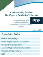 Biosimilar Comparability