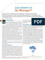 Chiunque può essere unSocial Media Manager? - CMI Giugno 2013 Socialmediamanager
