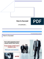 howtosucceed-15pointprogram-090529045438-phpapp02