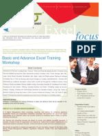 Excel Focus for Institutions