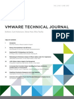VMware Technical Journal - Summer 2013