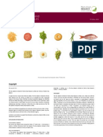 Food Data Manual