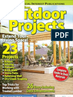 Best Ever Outdoor Projects 2012