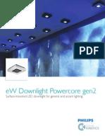 eW Downlight Powercore Gen2 ProductGuide