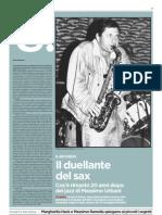 Frammento del testo che Giancarlo Liviano D'Arcangelo leggerà stasera a Massenzio