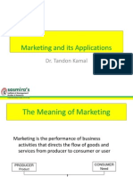 Marketing Applications & Practices