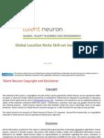 Global Location Niche Skill Set Insight