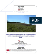 Osmaniye Bahce Wind Farm ESIA Report