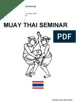 Muay Thai - Tajlandski Boks Seminar Za Trenere Bosna i Hercegovina