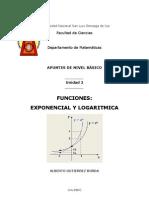 Apuntes Exp Log