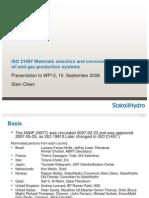 Draft ISO 21457