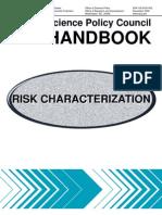 Handbook Risk Characterization