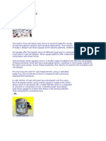 LOAD Cell Notes