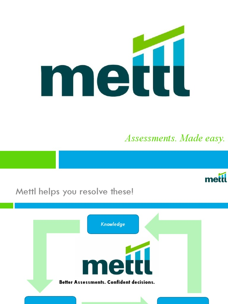 Mettl Overview | Psychometrics | Educational Assessment