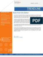 DCR Trendline July 2013 – Contingent Worker Forecast and Supply Report